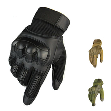 Full Finger Touch Screen Tactical Gloves Rubber Knuckle Military Combat Protective Knuckle Gloves Sport Hiking Anti-skid Gloves strong 0 35mmpb medical x ray protective gloves ray workplace use gloves lead rubber gloves