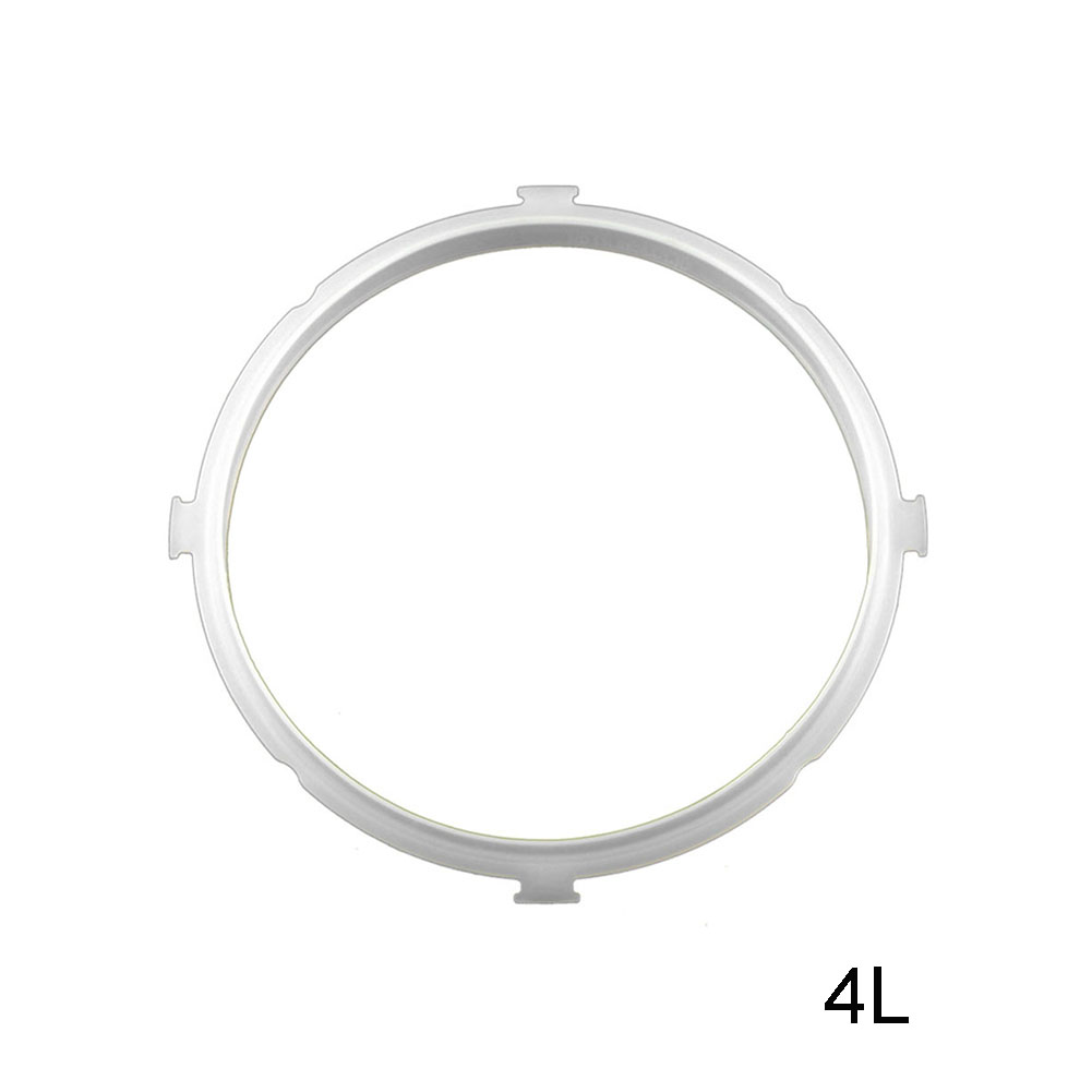 Replacement Silicone Pressure Cooker Gaskets Rubber Clear Electric Pressure Cooker Gasket For Kitchen Tools