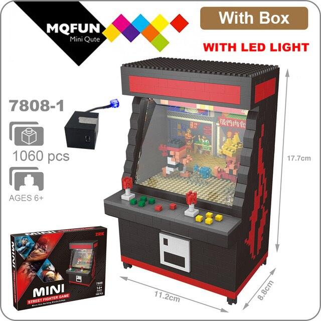ZRK-minimáquina Expendedora de juegos de Arcade con Clip, juguete para regalo educativo, con dibujos animados