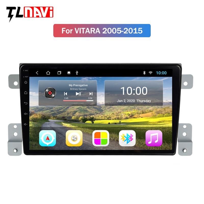 2G RAM 9 Inch Android 9 For Suzuki Grand Vitara 3 2005-2015 Car Radio Multimedia Video Player Navigation