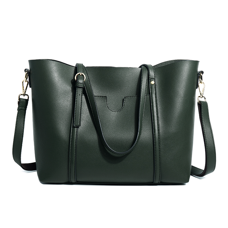 Soft Leather Single-Shoulder Large Bag For Women 2020 New Fashion High-Capacity Tote Bag, Hand Cross Body Bag For Women Leather