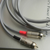 HiFi audio cable Audio Note AN Vx audio cables Solid Silver 99.99% RCA interconnects with box