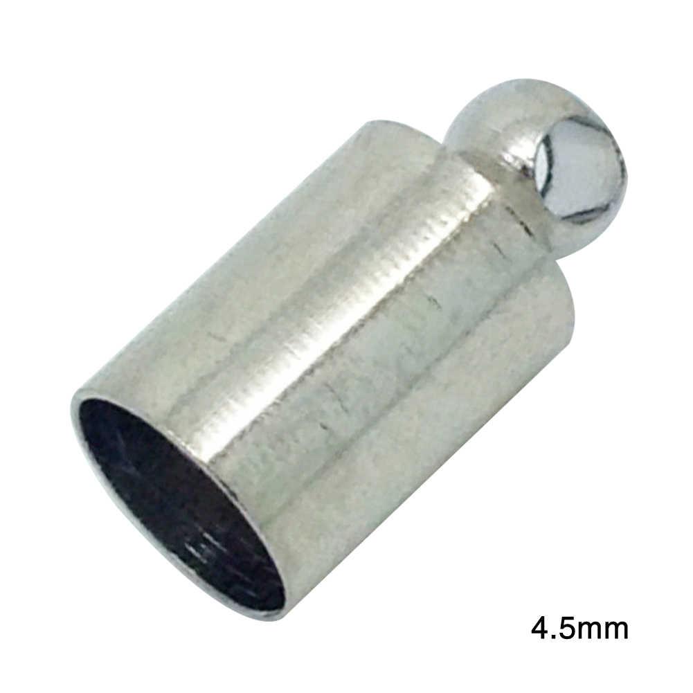 100 шт браслет DIY латунь для ожерелья Мини фермерское украшение бисером концы ювелирных аксессуаров Легкий с петлей прочный
