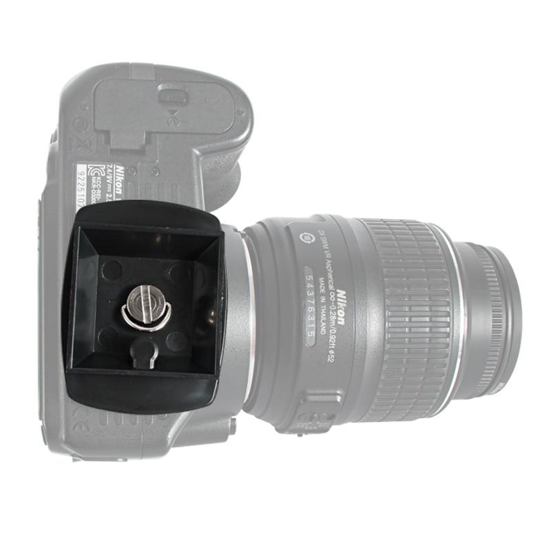 Almencla 1//4 Camera Mounting Screw for Tripod Monopod Quick Release Plate LS076