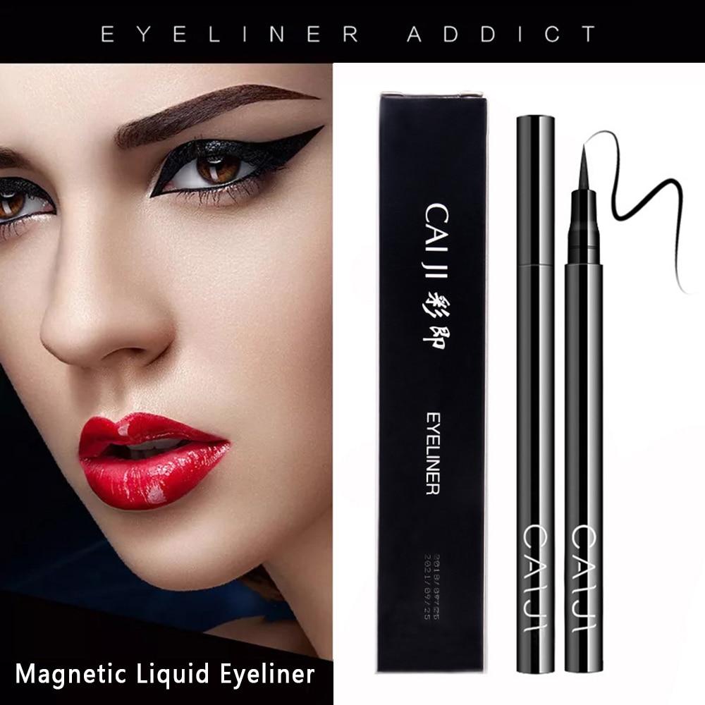 Black Natural Long-lasting Quick-drying Waterproof Eyeliner Durable Makeup Does Not Flower Eyeliner Makeup Tools TSLM1