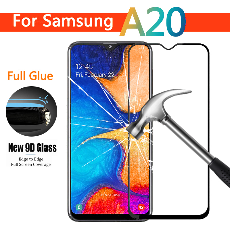 9D Full Glue Tempered <font><b>Glass</b></font> For <font><b>Samsung</b></font> Galaxy A20 A20e A205F screen protector For <font><b>Samsung</b></font> <font><b>A</b></font> <font><b>20</b></font> e Protective Film Glas 9H image