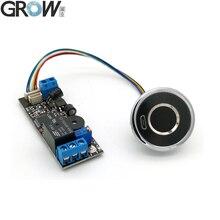 GROW K202+R501 DC12V Low Power Consumption Fingerprint Control Board Switch Controller+R501 Capacitive fingerprint sensor