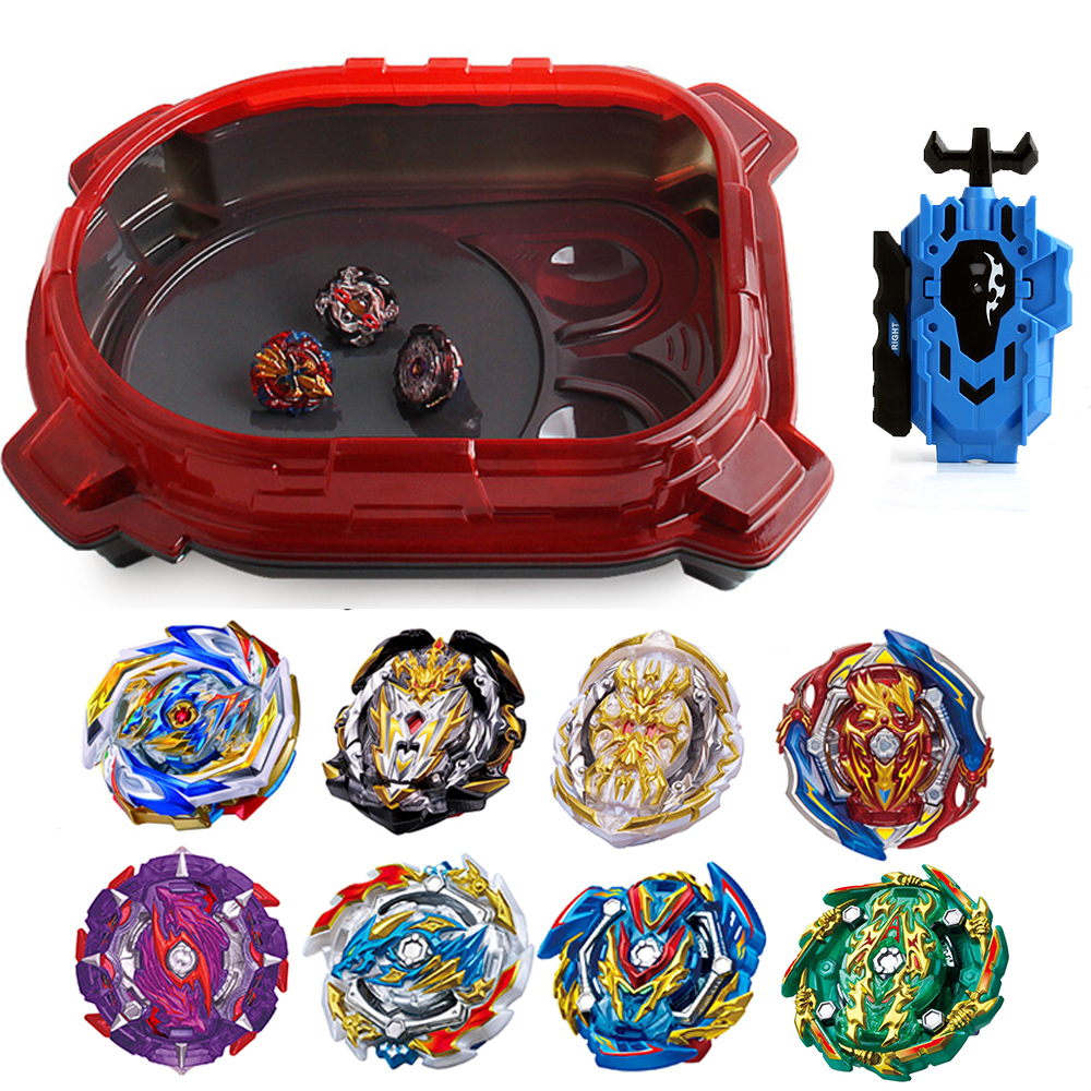 New Launchers Beyblade Toupie Bayblades Metal Black Bables Set Burst Fafnir Box Bey Blade Bey Blade Toys For Childn