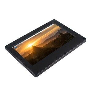Image 5 - 라즈베리 파이 4 모델 B 7 인치 LCD 1024x600 IPS 용량 성 터치 스크린 조정 가능한 밝기 디스플레이 라스베리 파이 4B/3B +/3B
