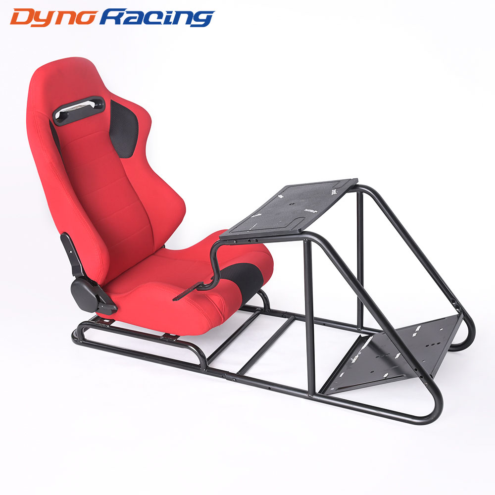 Game Gaming Racing Seat Steering Pedal Shift Mount Simulator Chair Driving Seat PVC Leather Telescopic