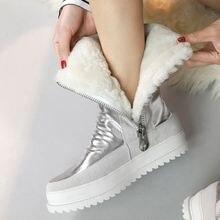 Брендовые женские ботильоны новинка 2021 модная зимняя теплая