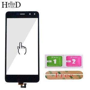 Сенсорный экран для HuaWei Y6 II Y6II Y6 2 Y6 2017 Y6 2018 Y6 2019 дигитайзер Панель переднее стекло сенсорный экран 3 м клей салфетки