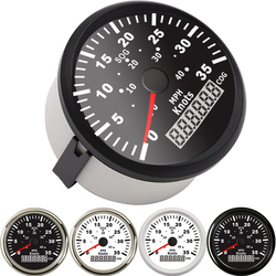 85mm Car Boat GPS Speedometer Waterproof 35 Knots 40 MPH SOG COG tuning auto Speedometer Gauge fit Marine With Backlight 9~32V