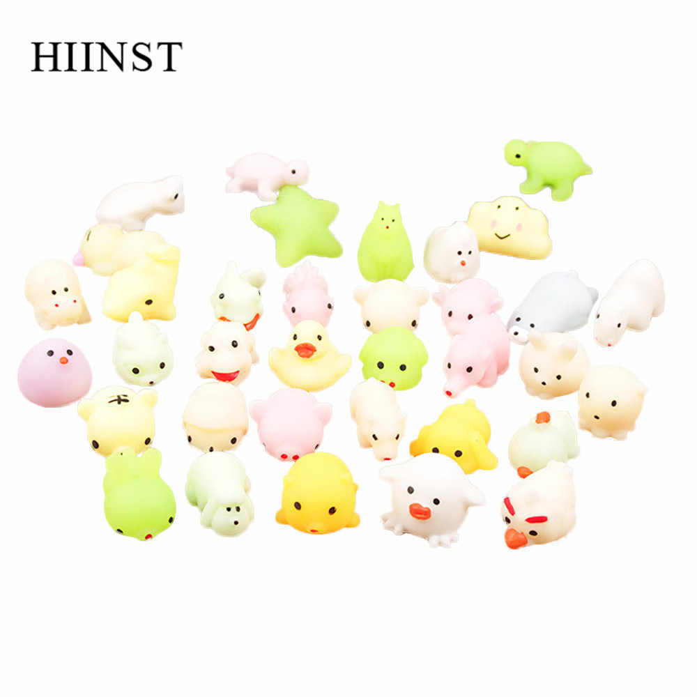 Hiinst Stress Relief Toy Led Light Squeeze Healing 5pcs Flashing Puffer Cartoon Animal Toy Activity And Play Ball Birthdays Gift Aliexpress