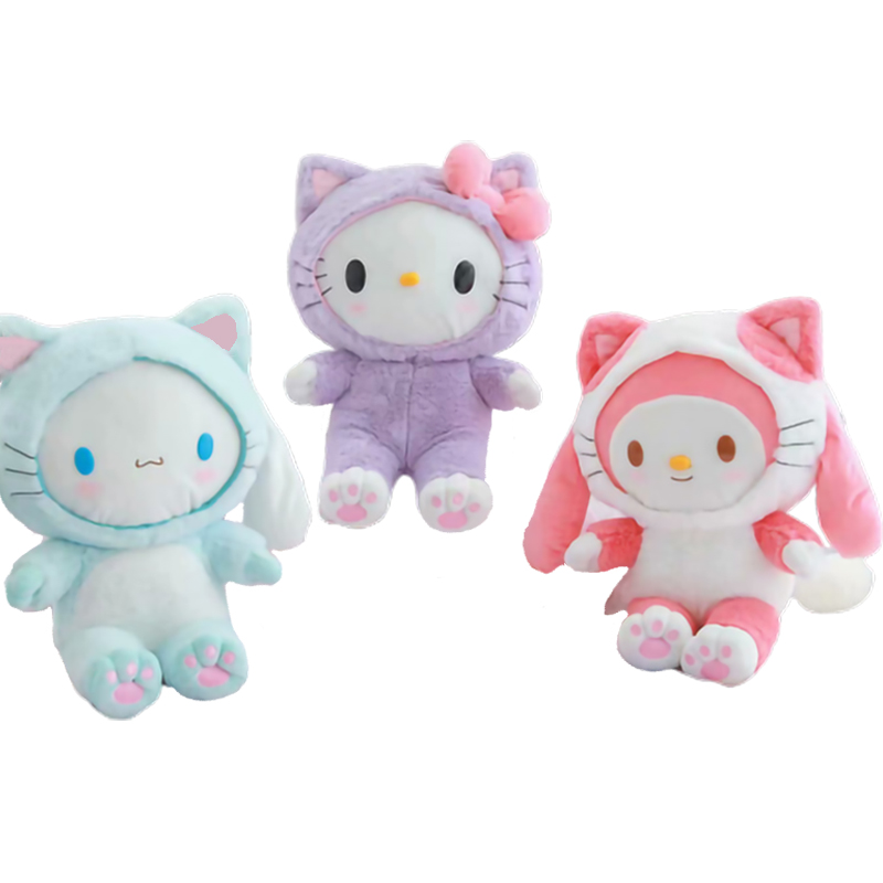 My Melody Cinnamoroll Hello Kitty Soft Plush 2