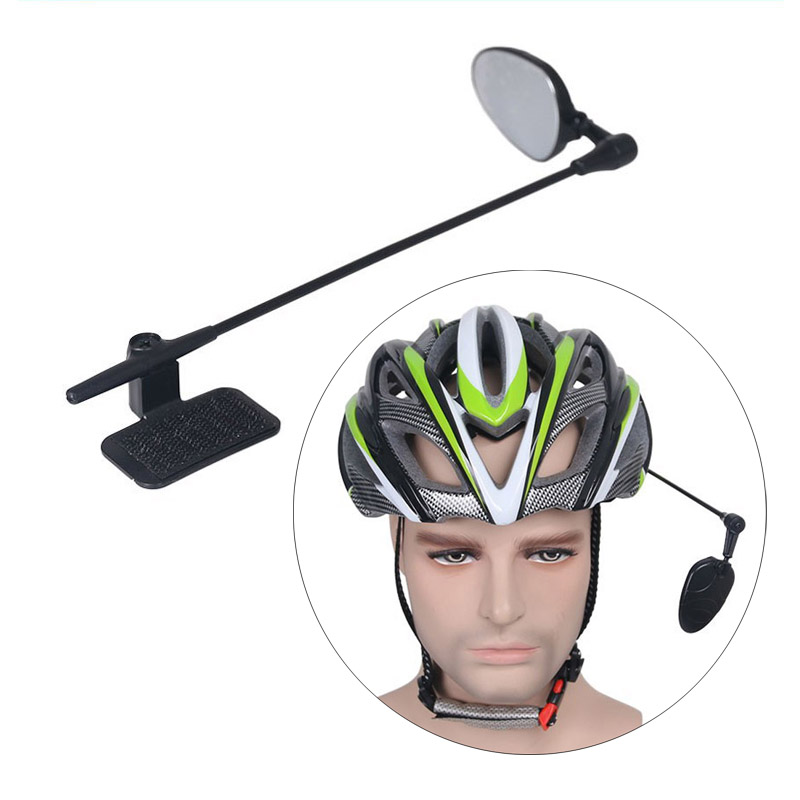 Bicycle Helmet Riding Mirror Flexible 360 Degree Adjustable Rear View Mirror