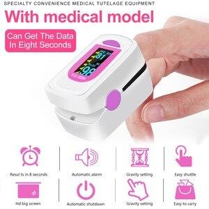 Image 5 - Cofoe Pulse oximeter finger pulse oxymeter Digital Oxygen Meter Clip Type SPO2 PR sensor OLED display Fingertip Pulse Oximeters