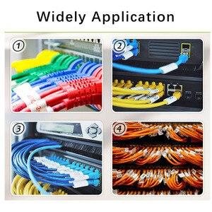 Image 5 - 750Pcs כבל תווית מדבקת A4 נייר חוט Ethernet רשת חשמל כבל תוויות כבל תג סמן הדפסת מדבקות ארגונית