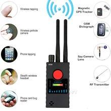 デュアルアンテナG528 抗率直な隠しカメラ検出器rf信号秘密gpsオーディオgsm携帯電話wifiピンホールカムスパイバグファインダー