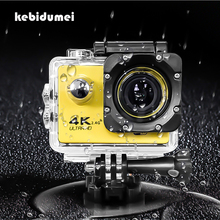 "16MP 4K WIFI Action Sport Camera Ultra HD 1080P 2.0"" Helmet Cam Outdoor Sports Underwater DV Camera Recorder F60/F60R Waterproof"