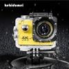 "16MP 4K WIFI Action Sport Kamera Ultra HD 1080P 2.0 ""Helm Cam Outdoor Sport Unterwasser DV Kamera recorder F60/F60R Wasserdicht"