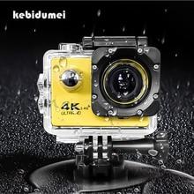 """16MP 4K WIFI Actionกล้องกีฬาUltra HD 1080P 2.0 """"หมวกกันน็อกCamกีฬากลางแจ้งใต้น้ำDVกล้องเครื่องบันทึกF60/F60Rกันน้ำ"""