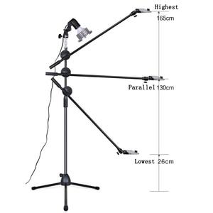 Image 5 - Photographic LED Light Fill Lamp Reflector Softbox 1.3m Floor Stand Tripod Bracket Arm Phone Live Video Shooting Photo Studio