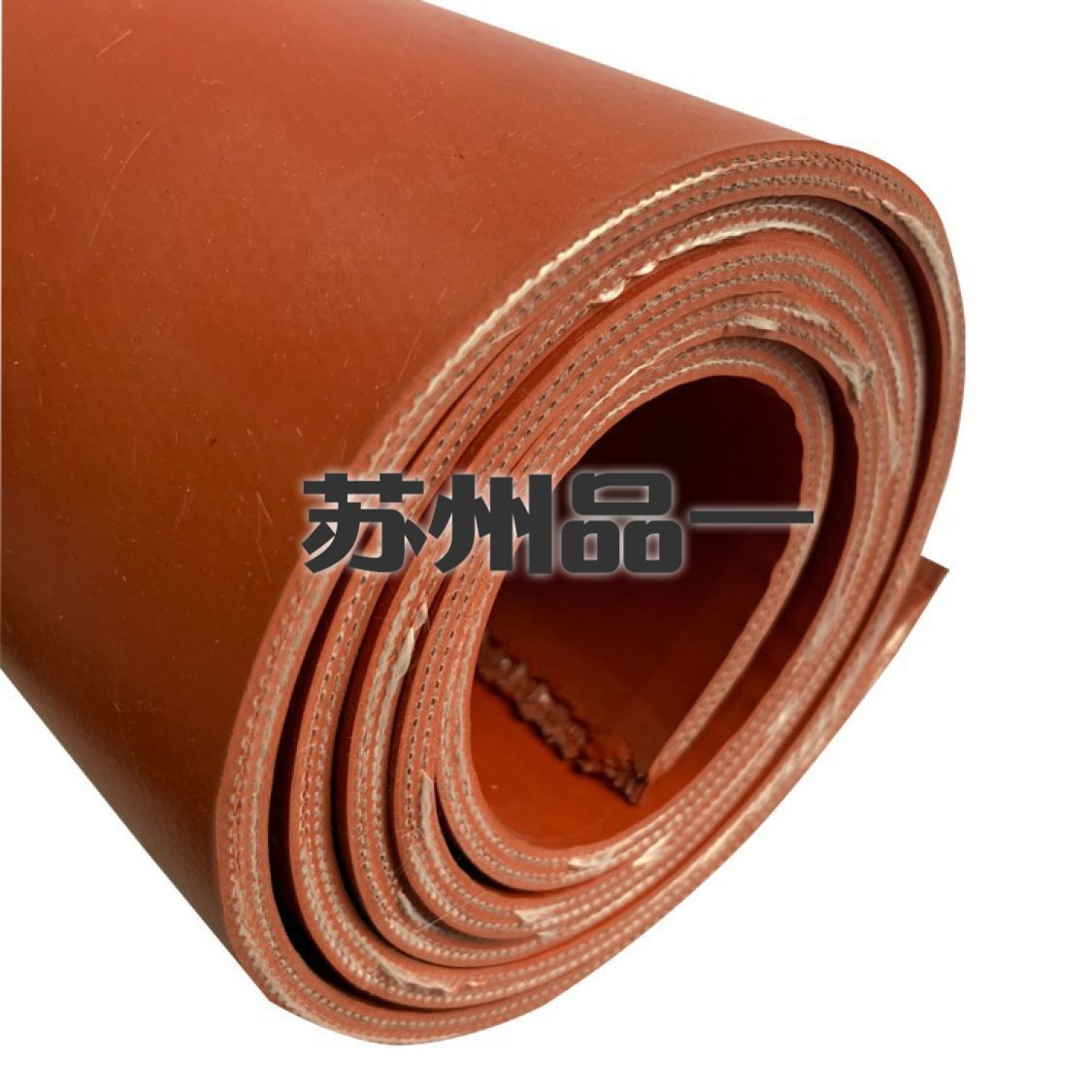 Special Offer Single Side Double-Sided Silicone Cloth Silicon Titanium Alloy Rubber Fire Prevention Canvas High Temperature Exha