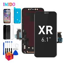 """AMOLED LCD สำหรับ iPhone XR จอแสดงผล OEM 6.1 """"Touch Screen Digitizer 3D TOUCH ASSEMBLY + กันน้ำ A2105 a1984 A2107 A2108"""