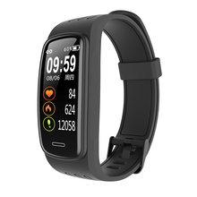 Ruyage pulseira relógio inteligente masculino feminino banda inteligente ip68 à prova dip68 água da frequência cardíaca monitoramento de saúde pulseira de fitness inteligente