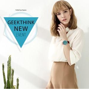 Image 5 - Top Creative Designer Brand Quartz Watch Men Leather Casual Unisex Simple Wrist watch Clock Male Gift  relogio Masculino