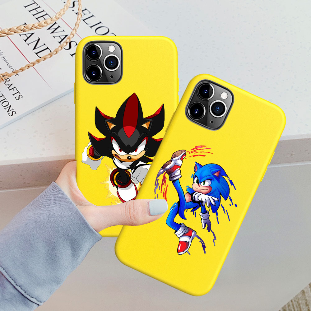 coque iphone 8 the yellow