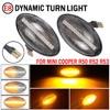2 sztuk światła LED boczne włączony kierunkowskaz boczne Repeater lampy 12V lampa panelowa migacz dla MINI Cooper R50 R52 R53 2002-2008