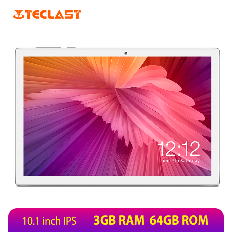 Teclast M30 Tablet 10.1 inch 1920 x 1200 Android 8.0 MT6797 X27 Deca Core 3GB RAM 64GB ROM Dual 4G Phone Tablets PC Type-C GPS