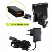 FW1S Mới EU/Mỹ USB AC Adapter Nguồn Điện Cung Cấp Cho Xbox 360 Cho XBOX360 Kinect Cảm Biến Cho Xbox 360 tay Cầm