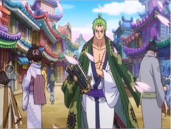 Disfraces Cosplay de los Mugiwaras en Wano Merchandising de One Piece