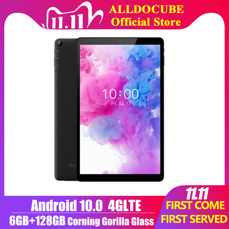 Alldocube Nieuwe IPlay20 Pro 10.1 Inch Android 10 Tablet 6Gb Ram 128Gb Rom SC9863A Tabletten Pc 1920 * 1200IPS 6000Mah TYPE-C