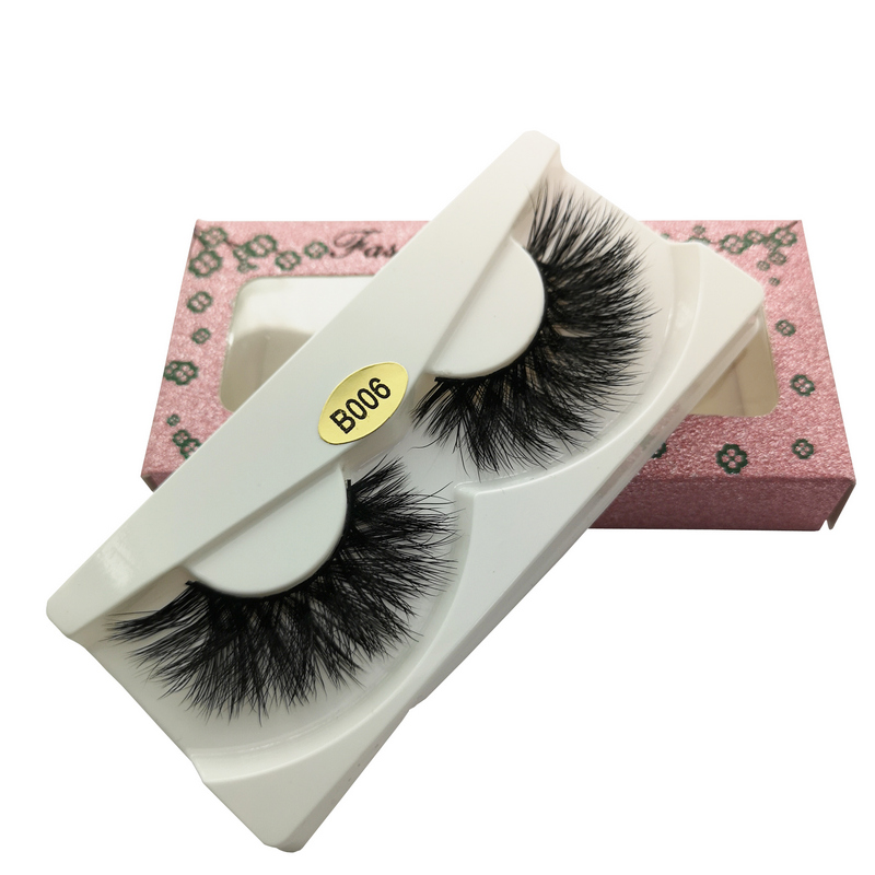 Mink Lashes 3D Mink Eyelashes 100% Cruelty free Lashes Handmade Reusable Natural Eyelashes Popular False Lashes Makeup