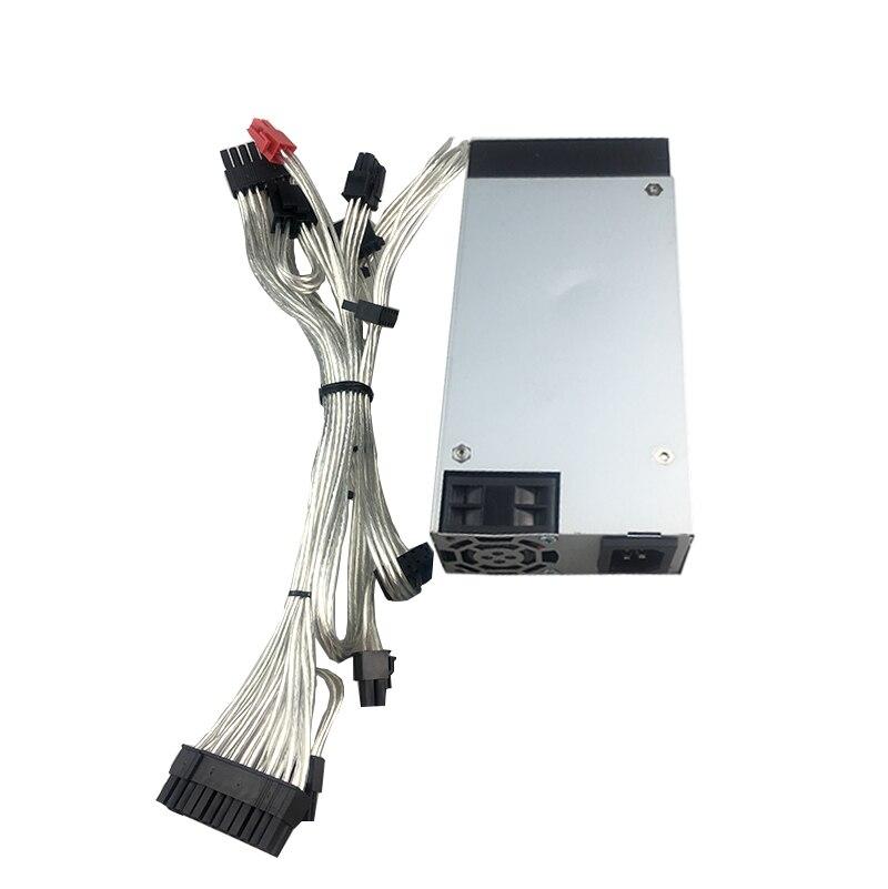 Новый 550W PSU для ATX 12V поддержка GPU FLEX NAS Малый 1U 500W источник питания 110V 220V