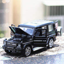 Childrens alloy car Big Ben G65 off-road vehicle suv simulation model 132 sound and light new products