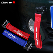 27CM Towing Ropes High Strength Car Tow Strap Bumper Trailer Tow Ropes for Mini F60 F55 F56 F54 R50 R52 R56 R53 R60 R61 R55 R57 bigbigroad car obd 2 hud windscreen projector overspeed warning head up display for mini cooper r50 r52 r53 r55 r56 r57 r60 r61