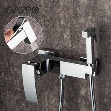 Gappo ванная комната биде душ твердая латунь кран мусульманский