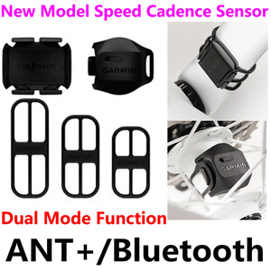 Image 3 - 2020 New For Garmin & Bryton ANT+ & Bluetooth Bike Speed Cadence Sensor Heart Rate Cycling parts For GPS Bicycle Computer Edge