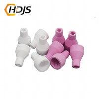 10pcs/20pcs Tig QQ150 QQ 150A Welding Torch Consumables Ceramic Nozzle|Tungsten Electrode| |  -