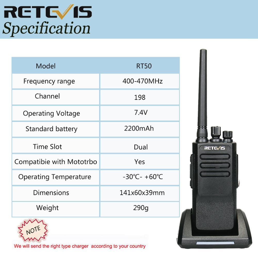 Digital UHF DMR Walkie-Talkie
