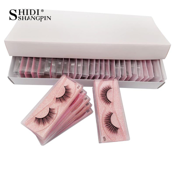 10 pcs Wholesale Eyelashes 3d Mink Lashes Natural Mink Eyelashes Wholesale False Eyelashes Makeup False Lashes In Bulk