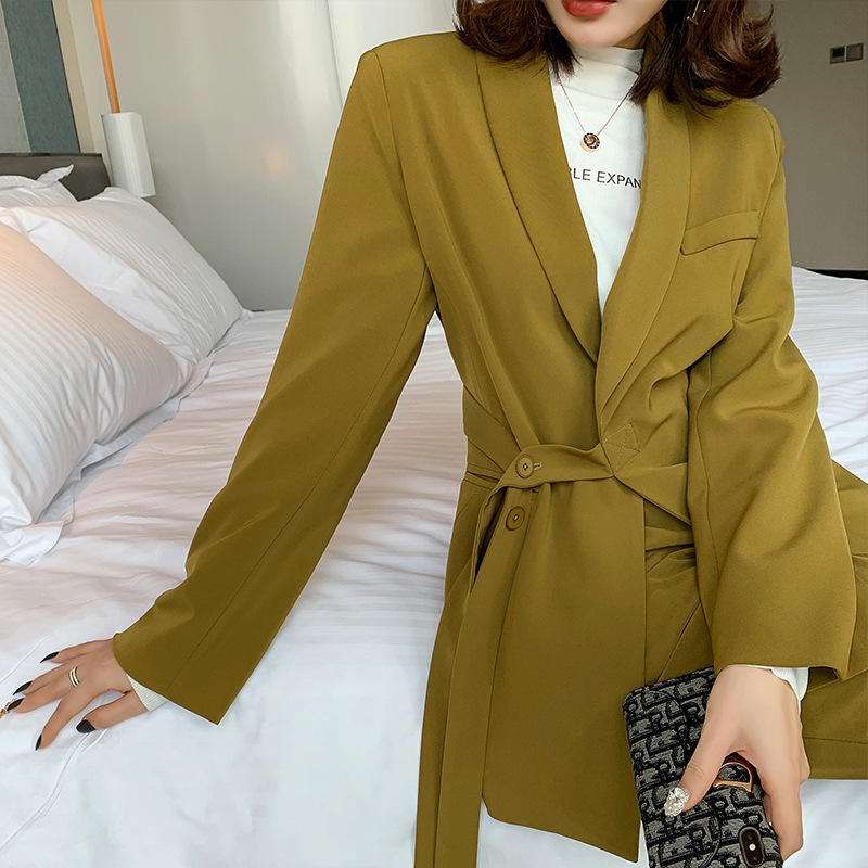 High quality large size M-5XL two-piece suit pants New autumn and winter women's casual loose female jacket Trend wide leg pants