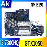 DY512 NM-B191 é adequado para For Lenovo notebook motherboard 5B20N00291 Y520-15IKBN CPU i5 7300HQ GTX1050 DDR4 100% trabalho de teste