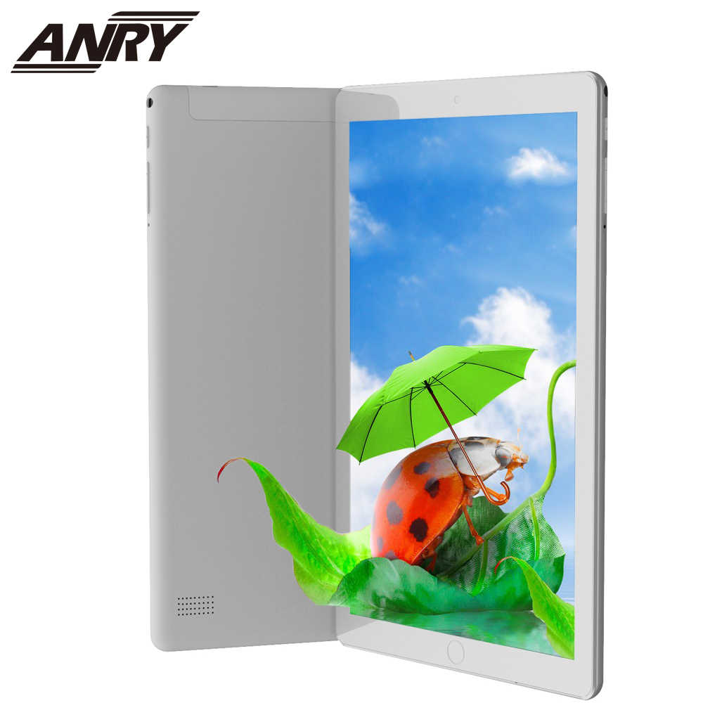 Anry 1006 10 Inch Tablet PC 4G Android 7.0 Octa Inti Super Tablet 4 GB RAM 64 GB ROM WIFI GPS Permainan Tablet IPS MTK Dual SIM
