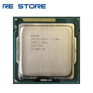 Image 1 - معالج وحدة المعالجة المركزية Intel Core i7 2600K 3.4GHz SR00C رباعي النواة LGA 1155